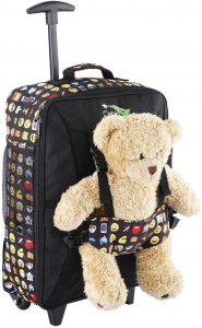 Cabine Max Bear Bag Sac pour Enfant avec Roues 50x34x20cm