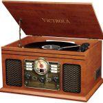 Tourne disque Victrola classic chaîne stéréo est 6 en 1 Platine Vinyle